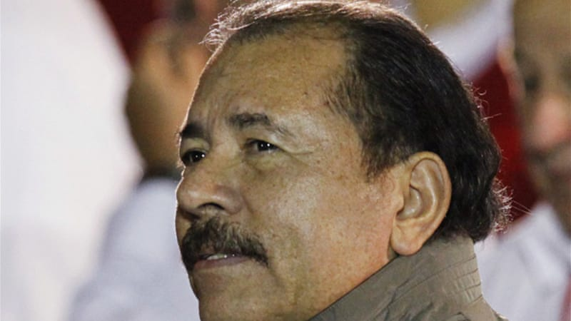 A former Marxist guerrilla, Ortega is serving his third term as president [Reuters]