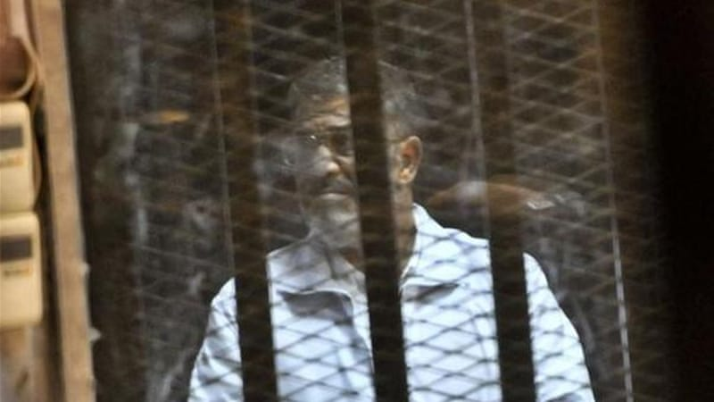 Morsi, Egypt's first freely elected president, was deposed by the army on July 3 last year after a year in power [AP]