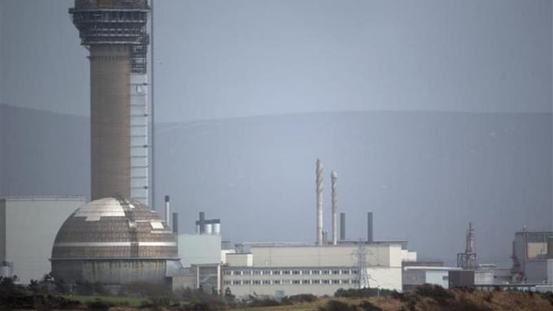 Sellafield is the largest nuclear power site in the UK [AP]