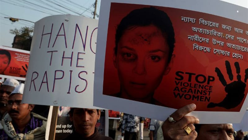 Indian authorities say that rape is one of the fastest growing crimes in the country [AFP]