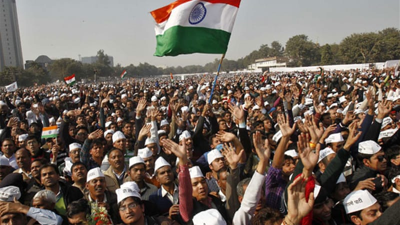 The Aam Admi Party has announced that it plans to contest forthcoming parliamentary elections [Reuters]