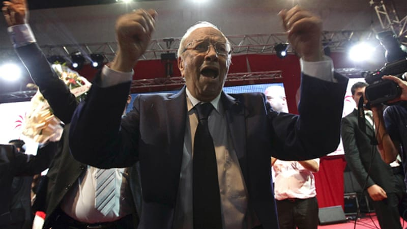 Ennahda opposes the prospect of Nidaa Tounes founder Beji Caid Essebsi winning the presidency [Reuters]