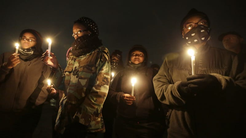 Civil rights organisations and protest groups have invited people from around the US to join vigils [AP]