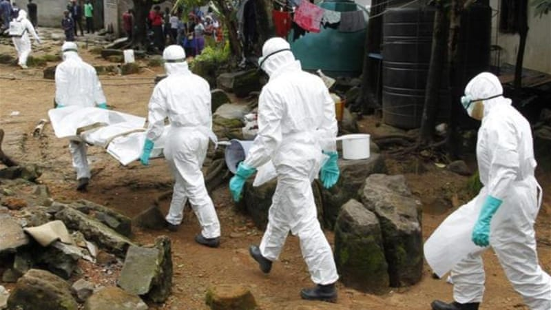 The Ebola epidemic has killed more than 4,000 people this year, mostly in Guinea, Sierra Leone and Liberia [EPA]