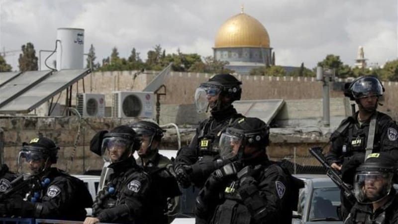 The al-Aqsa complex is the scene of frequent clashes between police and Palestinian youths [AFP]
