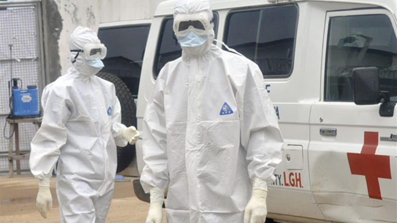 Almost 5,000 people have been killed by the virus in west Africa [AP]