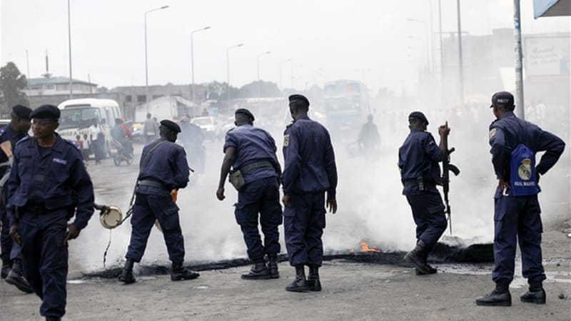 A UN report said the Congolese National Police summarily executed at least nine men in Kinshasa [AP]
