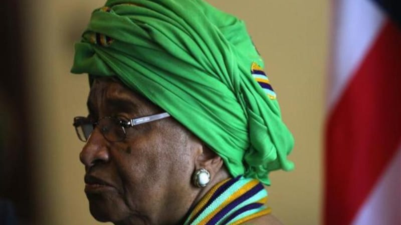 Sirleaf said her country would not become complacent after the gains made in fight against Ebola [Getty Images]