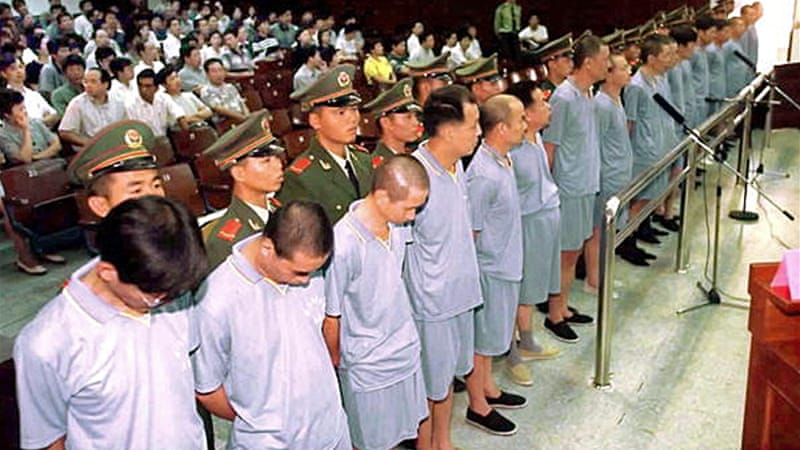 China executed 2,400 people in 2013: report | News | Al Jazeera
