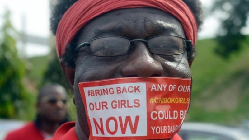President Jonathan has been widely criticised for his response to the schoolgirls' abductions [AFP]