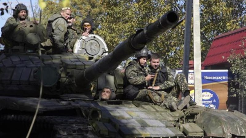 The Minsk Memorandum was signed on September 19, bringing calm after violence that killed 3,000 people [EPA]
