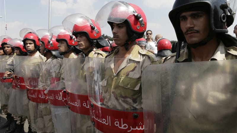 Scores of policemen and soldiers have been killed in shootings since Egyptian military deposed president Morsi [AP]