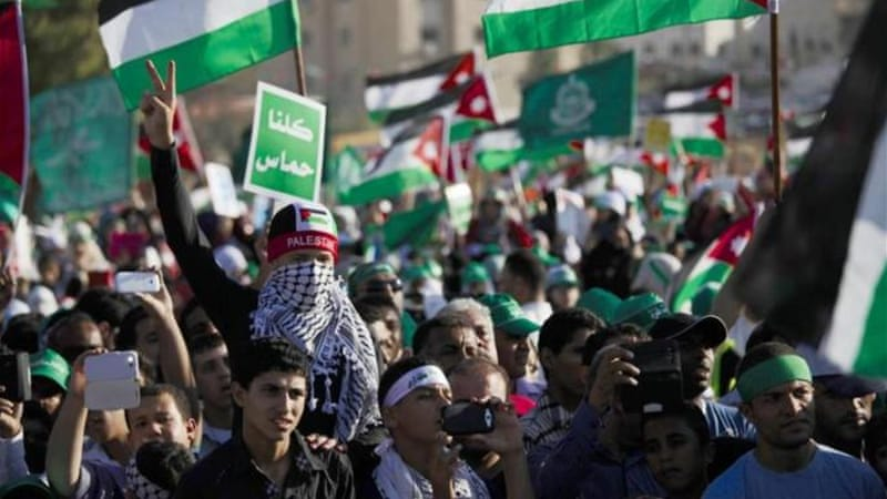 The public mood in Gaza is largely supportive of local armed resistance groups [AP]