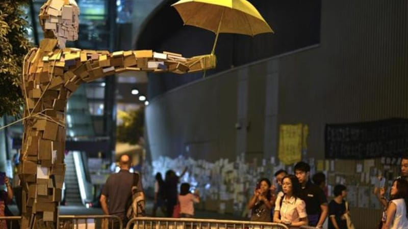 Protests have been continuing in Hong Kong since September 28 with no resolution in sight [Getty Images]