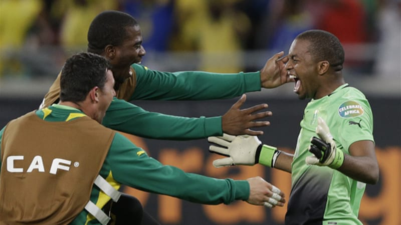 Meyiwa had recently been made captain and lead the national team to the African Cup of Nations qualifiers [AP]