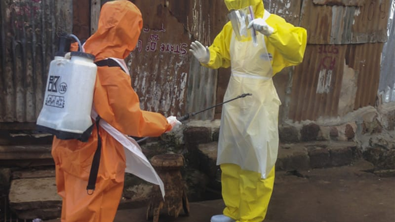 Authorities have gone to extreme lengths to bring Ebola under control, like quarantines [EPA]