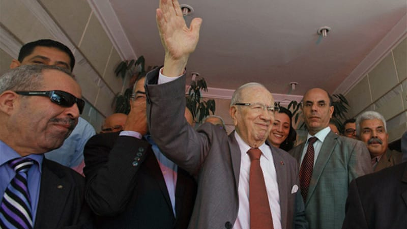 Essebsi, Nidaa Tounes's 87-year-old leader, is a former minister and parliamentary speaker [Reuters]