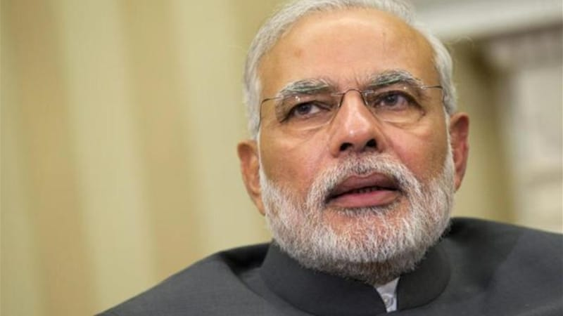 Indian prime minister Narendra Modi has urged MPs to forgive the minister's comments [AP]