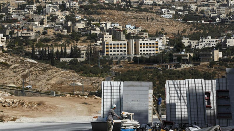 Palestinians say Israeli settlements are an obstacle to the independent state they seek [Reuters]
