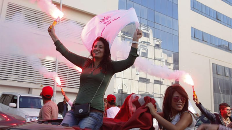 Tunisians voted on Sunday to elect a new parliament [Reuters]
