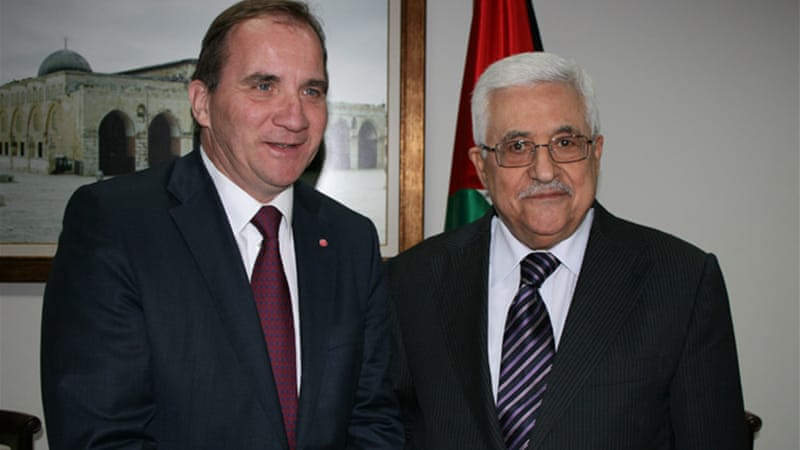 Lofven promised President Abbas in 2012 that he would recognise Palestine [Social Democrats]
