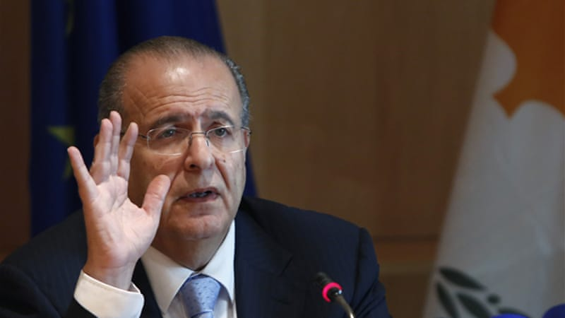 Cyprus' foreign minister Ioannis Kasoulides said talks could not take place under 'conditions of provocation' [AP]
