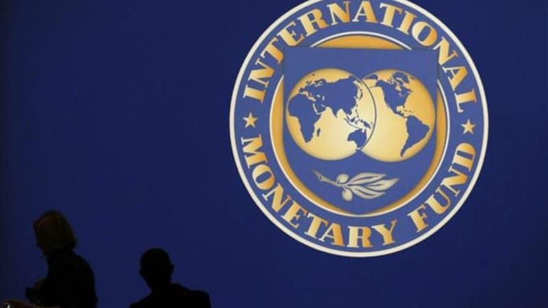 IMF's semi-annual World Economic Oultook projected a possible stagnation in eurozone economy this year. [Reuters]