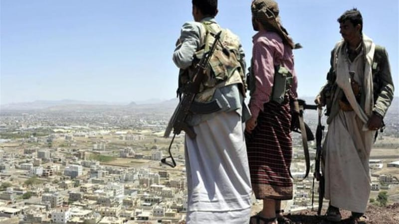 The Houthis captured the city of Ibb last month after easily overrunning Sanaa in September [EPA]