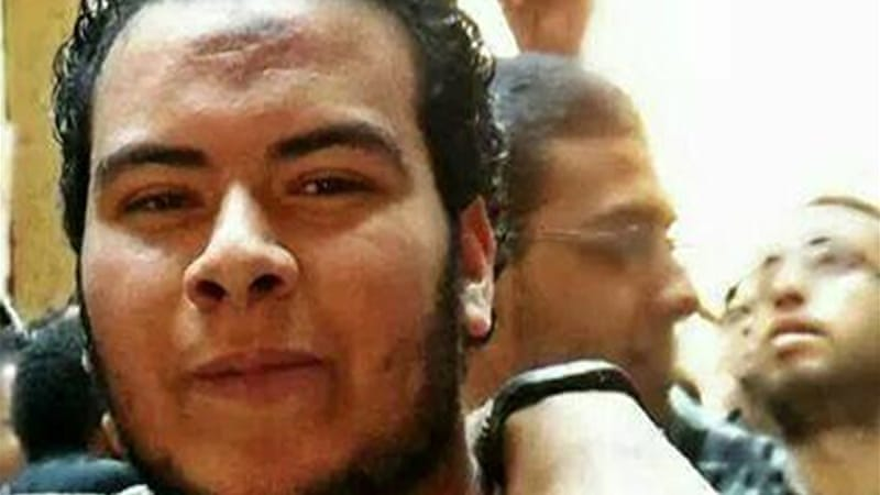 Mohamed Ramadan Yehia was arrested for taking photos of security personnel searching for a bomb [Facebook]