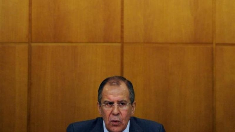 Sergei Lavrov urged Kiev authorities to respect a truce agreed in Minsk [File: AFP]