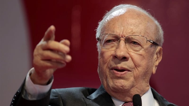 Essebsi has vowed to restore the prestige of the state by providing much-sought stability [Getty]