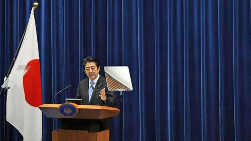 The recession has forced Abe to delay a second sales hike planned for October next year until April 2017 [Reuters]