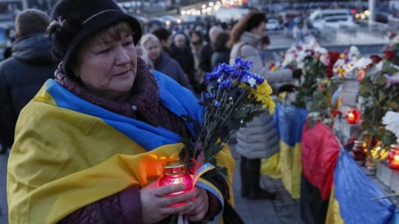At least 4,300 people have died in Ukraine since pro-Russia rebels rose up against Kiev in March [Reuters]