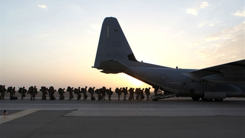 Almost 10,000 US troops were already ordered to stay in Afghanistan after the initial drawdown [AP]