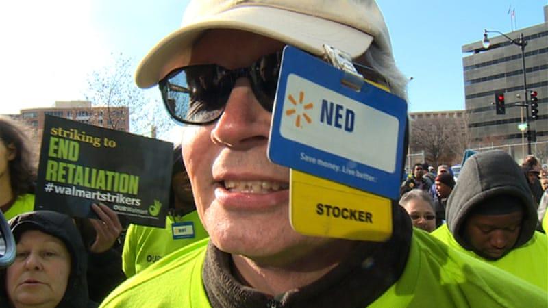 Walmart protest Q&A: 'We need decent wages'   News   Al Jazeera