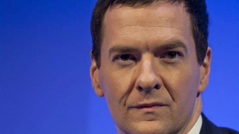 Osborne called reports about Merkel's comments in Germany's Der Spiegel magazine 'a bit thin' [EPA]