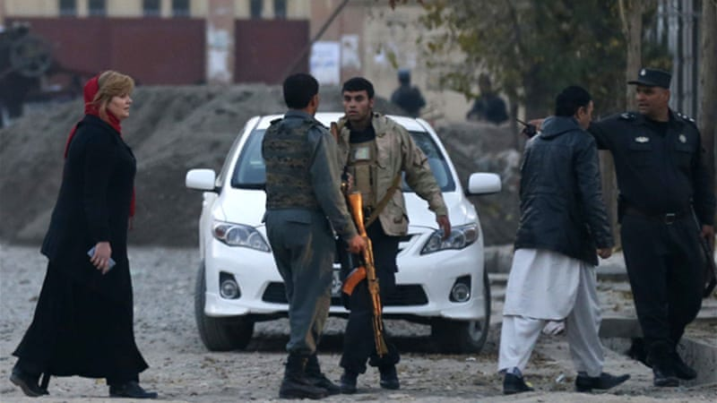 Taliban fighters have launched a campaign of large-scale attacks in Kabul in recent days  [Reuters]