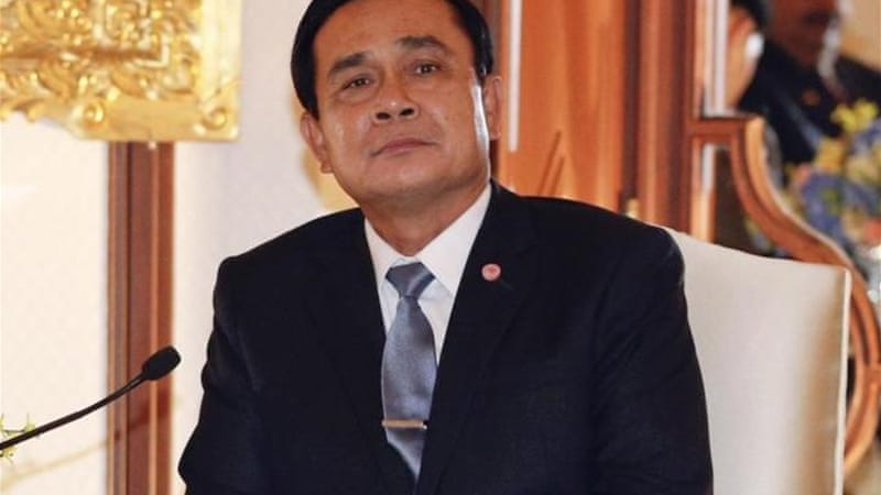 Thai PM Prayuth Chan-ocha said he hoped new constitution will end decade-long divisions in the country [Reuters]