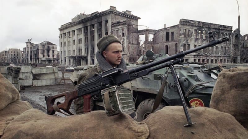 WAR IN CHECHNYA EBOOK