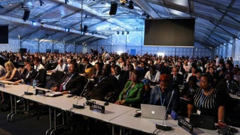 Delegates from more than 190 countries met in Lima for a climate change conference [Getty Images]