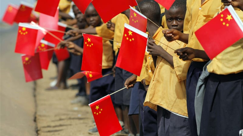 The African continent has become 'China's second continent', writes Heydarian [Reuters]