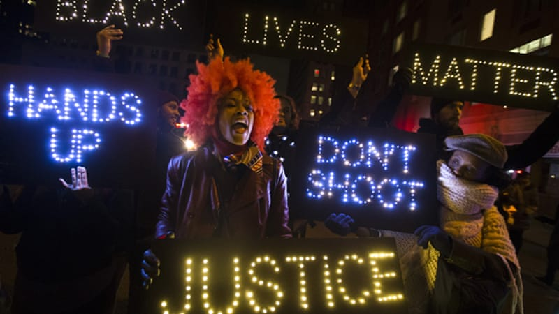 The recent debate comes amid street protests against what many see as police high-handedness [AP]