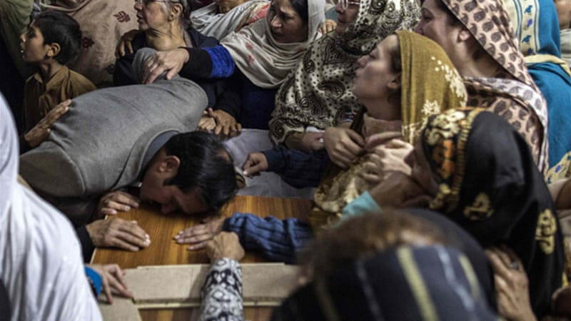 The Pakistani Taliban claimed responsibility for the attack that killed 132 children [Reuters]