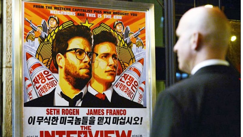 The allegation that North Korea hacked Sony Pictures led to the cancellation of the  film 'The Interview' [Reuters]