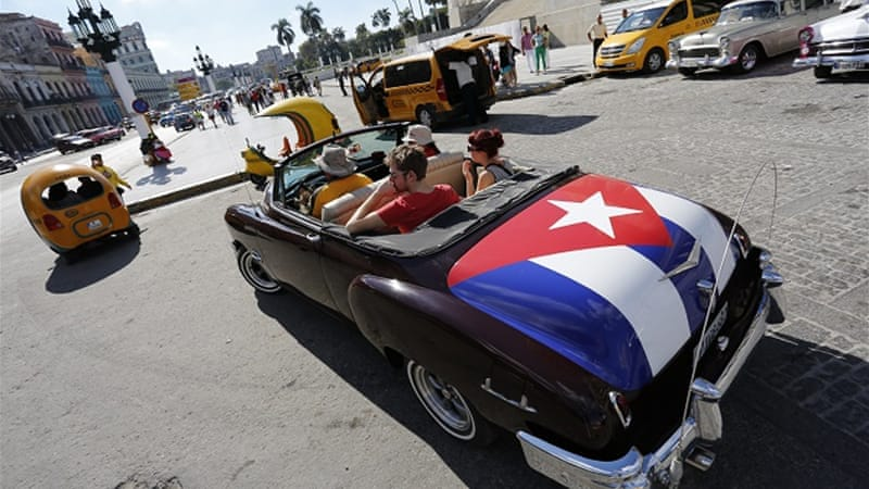 Rule changes will raise a limit on remittances and allow US banks to establish accounts in Cuban banks [AP]
