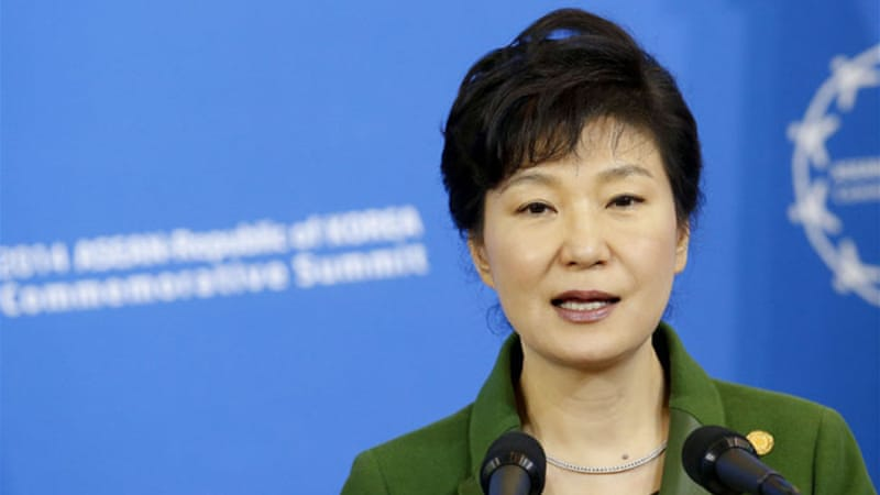 The case against the UPP was brought by the government of President Park Geun-hye [EPA]