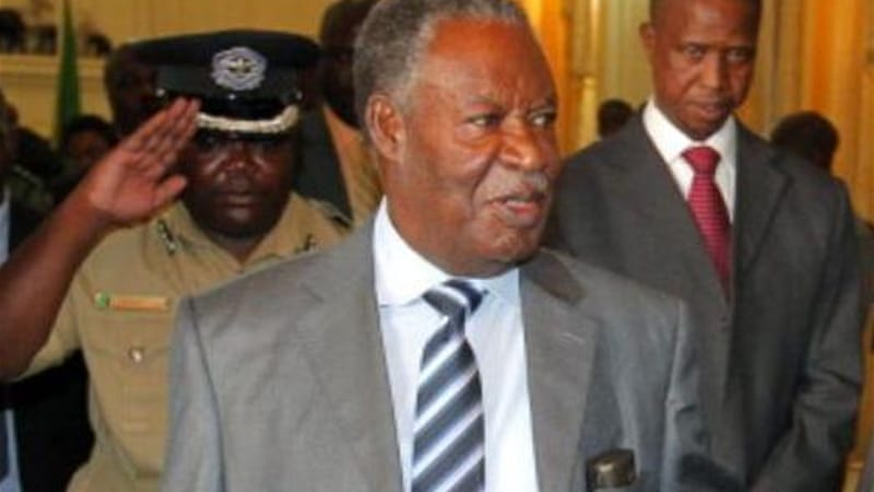 President Sata's death in October saw his deputy Scott take over as interim president [File: AFP]