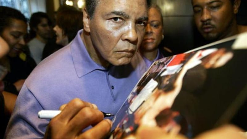 Ali was diagnosed with Parkinson's about three years after he retired from boxing in 1981 [AFP]