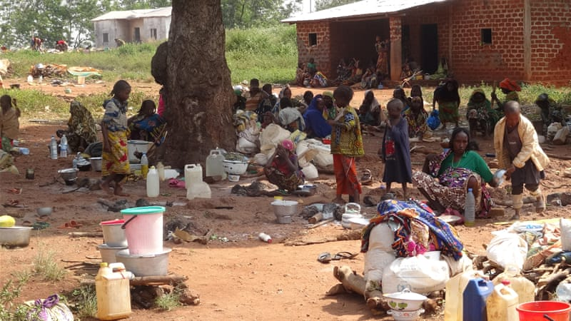 The UN says living conditions for the Peuhl Muslims are deteriorating by the day [UNHCR]