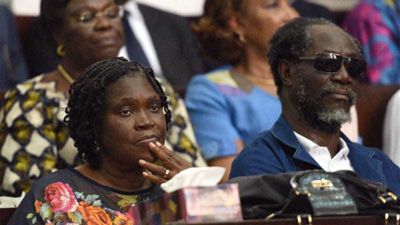 Simone Gbagbo has been under house arrest in northern Ivory Coast since she was arrested in 2011 [AFP]